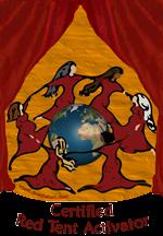 certified red tent activator- badge